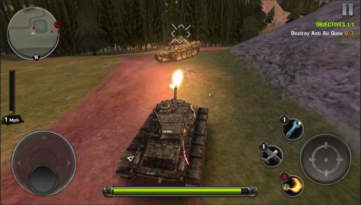 Tanks of Battle World War 2 is a Free Android, Tank Shooter , Multiplayer Game featuring both simulation and wargaming elements in one epic tank shooter experience.
