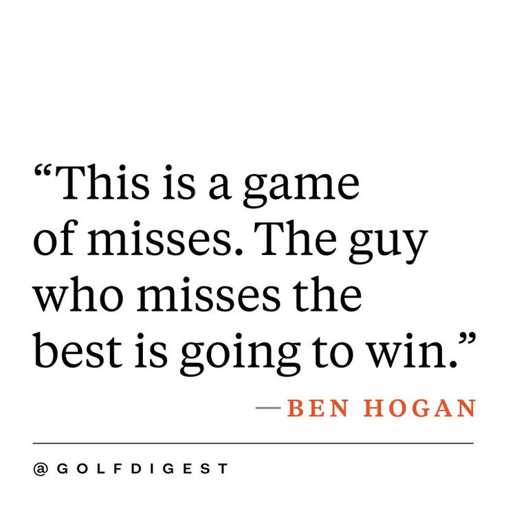 Inspirational Golf Quotes Enchanting 18 Best Golf Quotes Images On Pinterest  Inspirational Golf