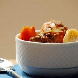 Alison's Slow Cooker Vegetable Beef Soup