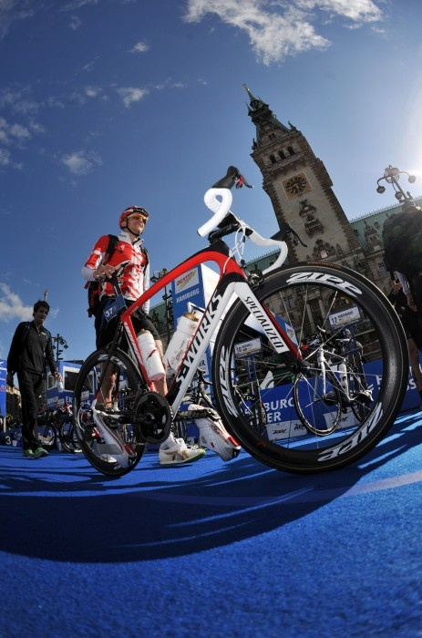Jan Frodeno's sick ride