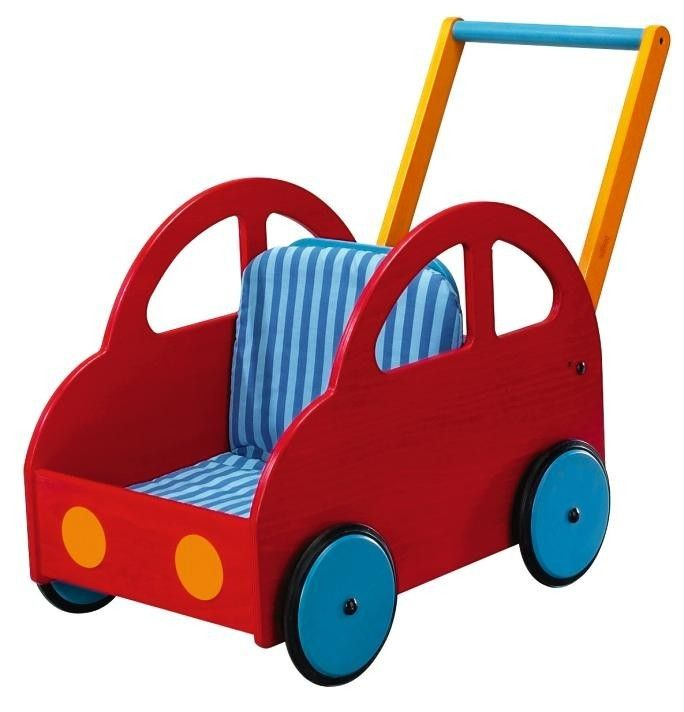 Haba Pushing Car Walker Wagon for Kids