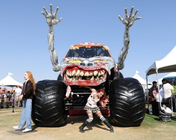 zombie monster trucks pinterest zombies