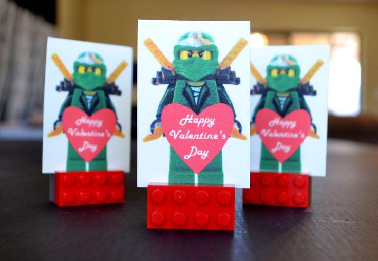 Free Printable Lego Valentine's Day Figures | Printables 4 Mom
