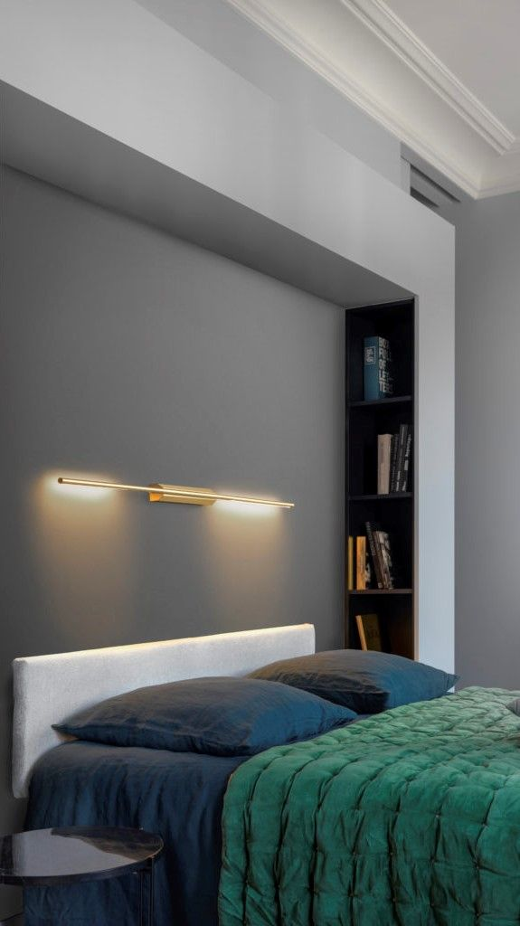 Link Wall Light By Cvl Luminaires Link Wall 725 Sb Redecorate Bedroom Wall Lights Wall Mounted Reading Lights