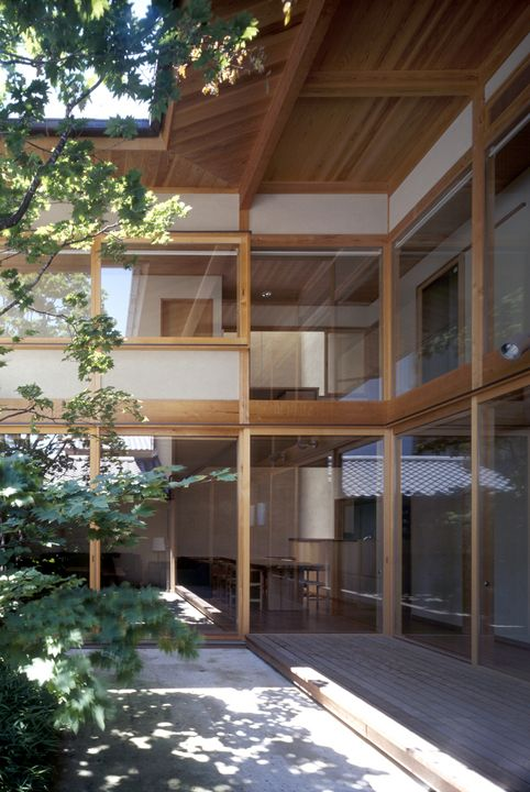 ハウチワカエデの家 横内敏人建築設計事務所