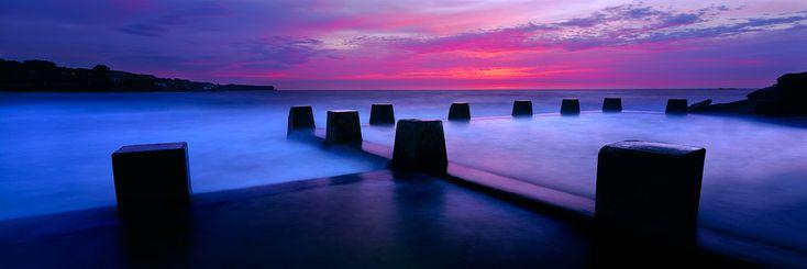 Coogee Sea Baths Sunrise, by Mark Gray, Melbourne artist