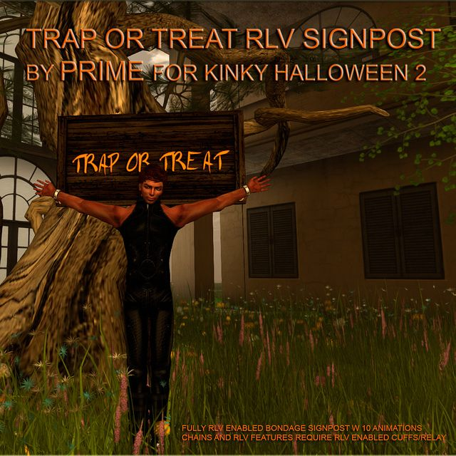 Kinky Halloween hunt gift from PRIME   Flickr - Photo Sharing!