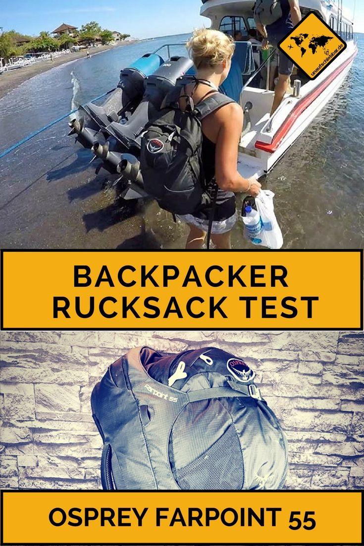"""https://www.unaufschiebbar.de/reisetipps/osprey-farpoint-55-test/ Osprey Farpoint 55 Test - Warum ich mir den Backpacker Rucksack nochmal kaufen würde""""  #Osprey #Farpoint #55 #Test #Backpacker #Rucksack #kaufen"""