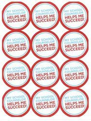 Product Information - ASCA Stickers – My School Counselor Helps Me Succeed