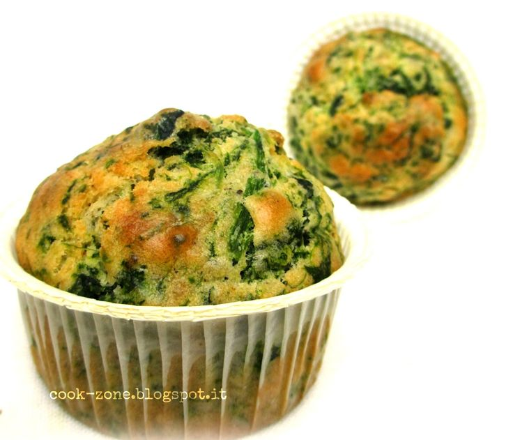 CoOk ZoNe: Muffins agli spinaci