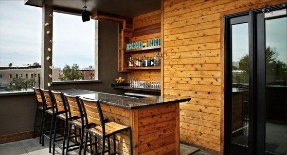 Home Tiki Bar Design