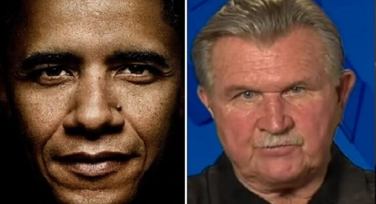 LOOK What Just Happened To Legendary Coach Mike Ditka Right After Coming Out Against Obama