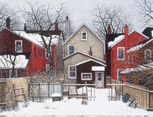 Behind Grange Ave  John Kasyn, Toronto