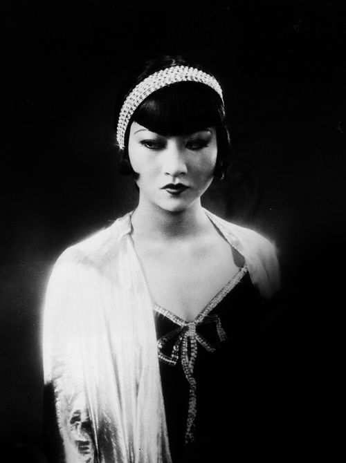 Anna May Wong in Großstadtschmetterling, 1929.~~American actress, the first Chinese American movie star, and the first Asian American to become an international star. Her long and varied career spanned both silent and sound film, television, stage, and radio.