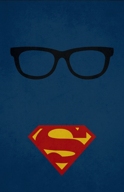 Clark Kent/Superman - LOVE THIS! - I want this on a t-shirt!