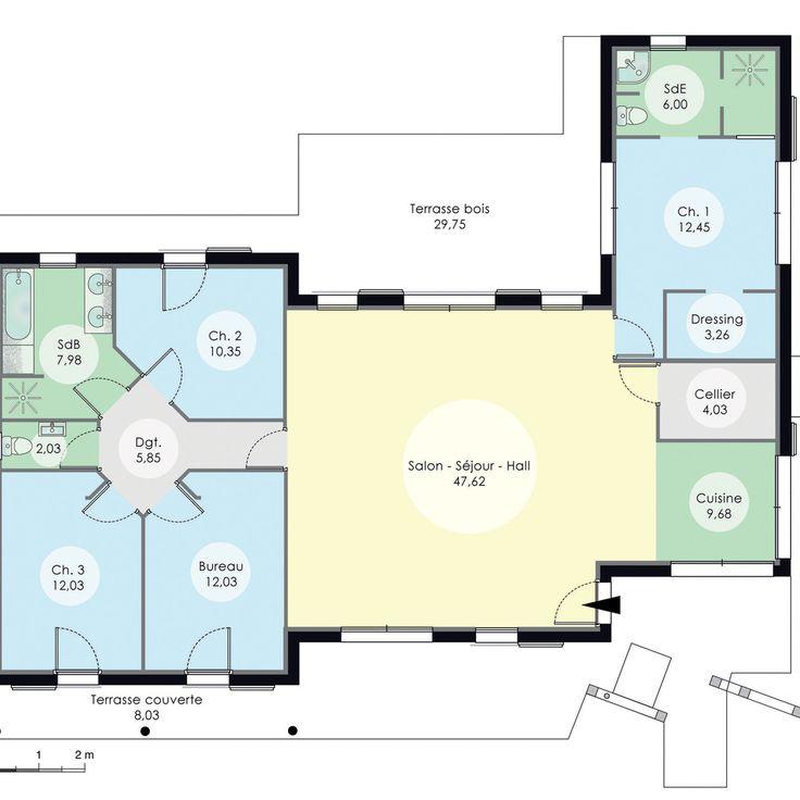 Les 25 meilleures id es de la cat gorie maison - Construire sa maison com plan ...