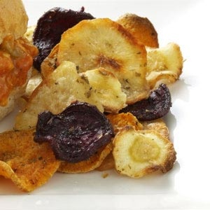 Baked Veggie Chips Recipe