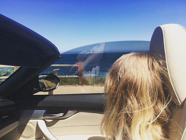 My friend Ellen's first encounter with California coast line #california #coast #ocean #montereybay #sanfrancisco #sanfranciscobayarea #bmw #convertable #z4 #bmwz4 #roadtrip #shanghai #swedish #montereylocals - posted by William Wong https://www.instagram.com/wyw.upintheair. See more of Monterey Bay at http://montereylocals.com