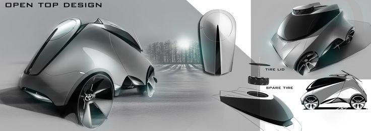 Toyota Hybrid 2015 on Behance
