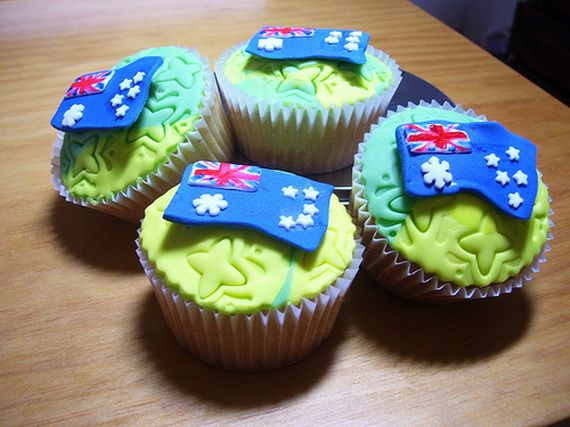 Australia Day Decorating Cupcake Ideas