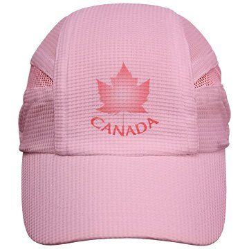 Pink Canada Caps | Canada Caps Pink Canada Souvenir Baseball Caps Cute Pink Canada Maple Leaf Souvenirs by Canadian Artist / Designer Kim Hunter. See www.kimhunter.ca for much more art, design, prints, gifts and personalized Canada souvenirs.