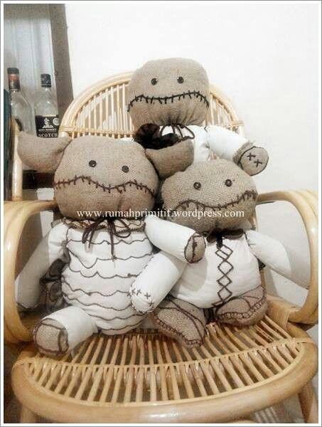 The primitive dolls!♥  #primitivedoll #dolls #rag #ragdolls #burlap #folkarts #handmade #crafts #DIY