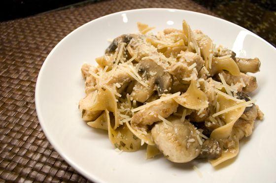 Garlic white wine sauce, White wine sauces and Chicken mushrooms on ...