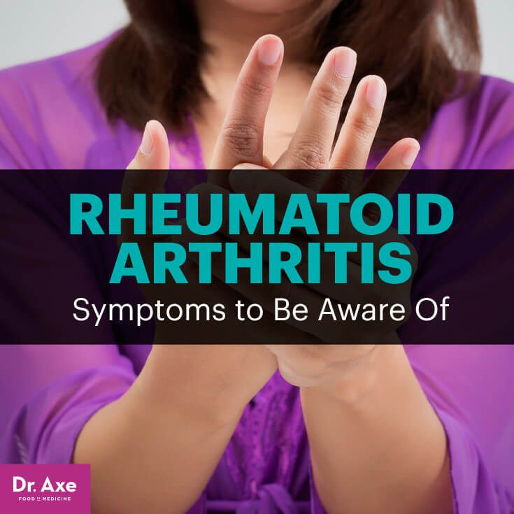 Rheumatoid arthritis symptoms - Dr. Axe http://www.draxe.com #health #holistic #natural
