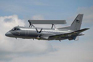 Saab 340 AEW&C (airborne warning and electronic warfare variant)