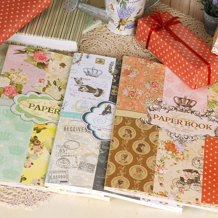 Find More Craft Paper Information about  Retro European Decorative Background Papers Vintage Gift Wrapping Paper Book,High Quality book book,China book paper Suppliers, Cheap book vintage from BestGreeting Store on Aliexpress.com