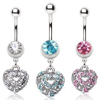 316L Surgical Steel Navel Ring with Vacant Heart Dangle,Clear;Sold individually body jewelry,http://www.amazon.com/dp/B00BMV9IUO/ref=cm_sw_r_pi_dp_GwYKrb8BCEFA41AB