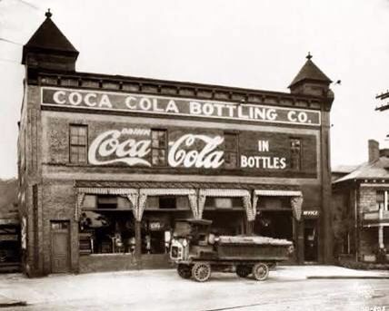 Early Coca cola factory..... In timing for a factory for the town part