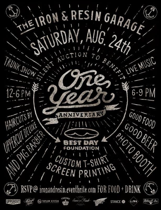 One Year Anniversary! | Iron & Resin