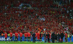 Wales team set for heroes' welcome in Cardiff after Euro 2016 exit