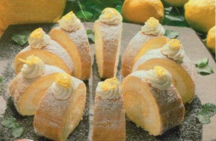 Citronová roláda