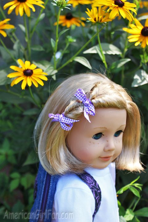 Doll Hairstyles for Back to School! - http://www.americangirlfan.com/2014/08/american-girl-doll-hairstyles-for-back-to-school.html