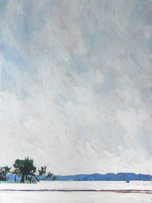 Artist: Bewabon Shilling, Title: BIG SKY, MARIPOSA POINT - click for larger image