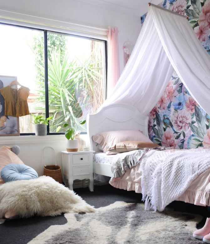 White Bamboo Drape Canopy - In search of a childrenu0027s bed canopy designed in Australia that is classic and timeless? Bring that deluxe soft and dreamy ... & The 25+ best Childrens bed canopy ideas on Pinterest | Childrens ...