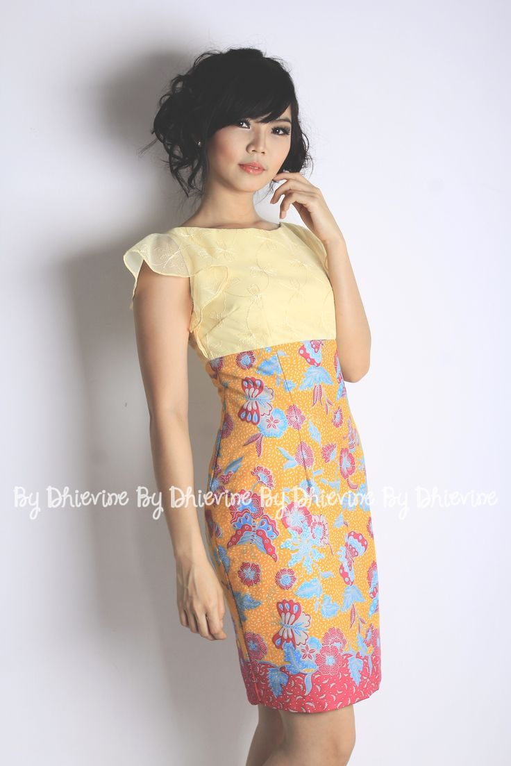 Rupeshwari Dress | Batik Dress | Dress Kebaya | DhieVine | Redefine You