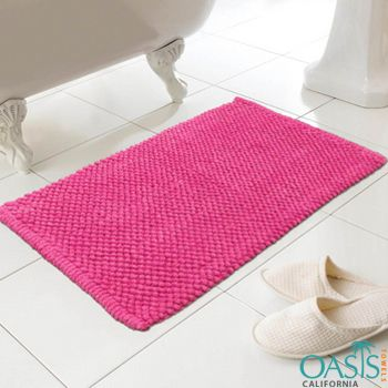 Hot Pink Bath Mat #Hot #Pink #Bath #Mat @Oasis Towels |