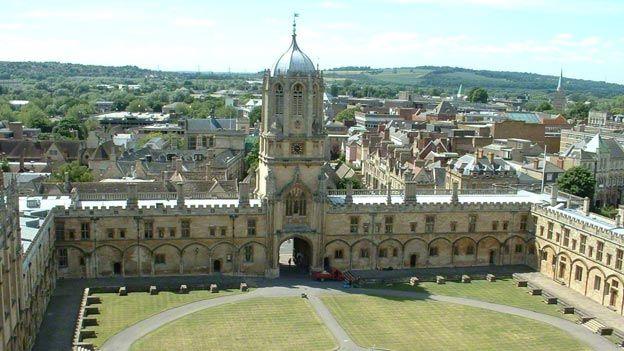Christ Church, Università di Oxford
