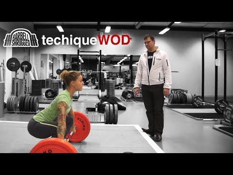 Anders Lindsjo Coaching the Snatch w/ Christmas Abbott - TechniqueWOD - Barbell DAILY