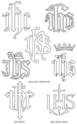 monograms of jesus