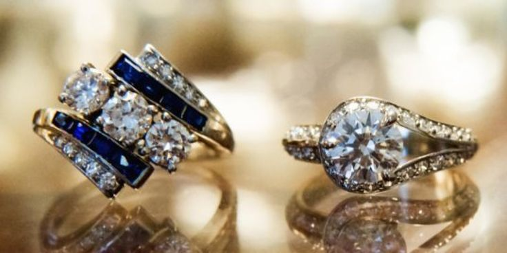 "Top 8 Reasons to Say 'I Do' to a Pre-Owned Engagement Ring ~ It's true that making the ring your ""something old"" will save your bank account from being ""something blue."" Even worse than a car once you drive it off the lot, an engagement ring retains as little as 30 percent of its value once..."