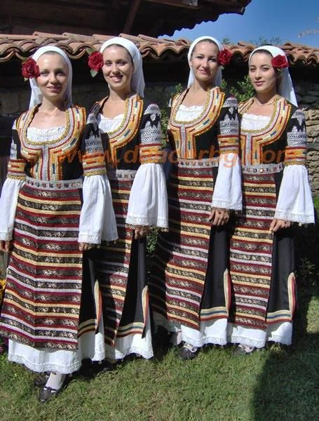 traditional costume bulgaria ethno pinterest