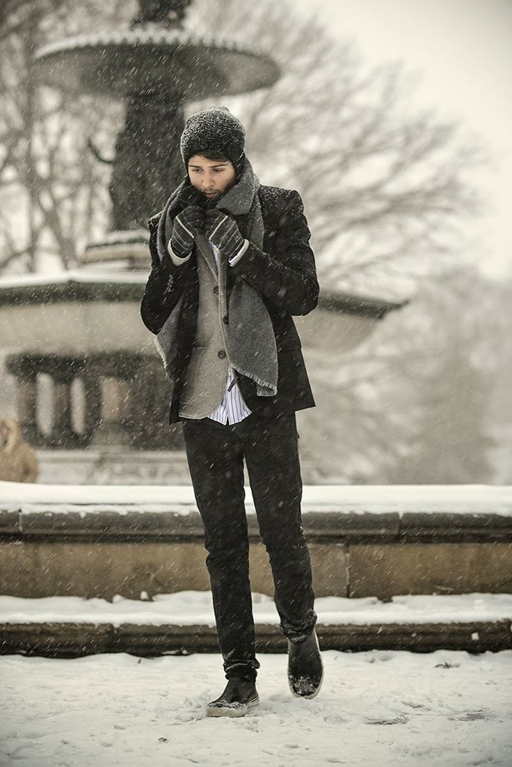 44 Best Men's Winter Outfits Images On Pinterest