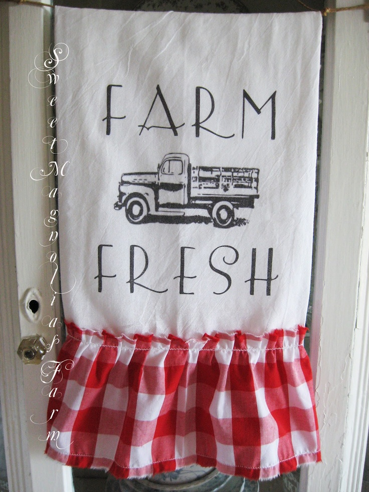 Farmhouse Flour Sack Towels