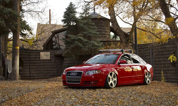 Audi A4 B7 on Rotiform NUE Wheels - Featured on Rides and Styling