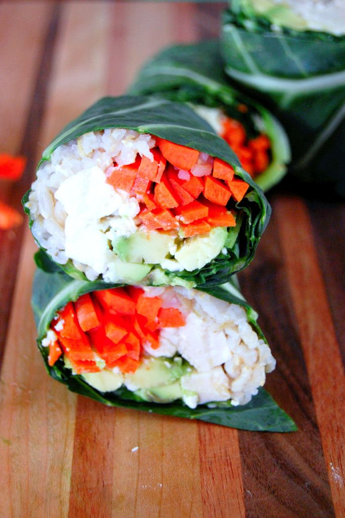 Simple Collard Green Sushi Wraps | Uproot from Oregon #glutenfree #healthy