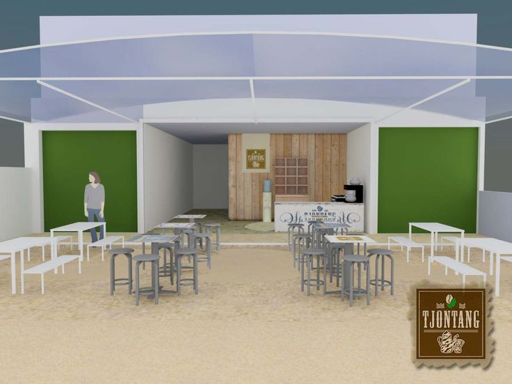 display #cafe #kedai Tjontang